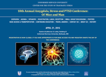 Amygdala, Stress, and PTSD Conference